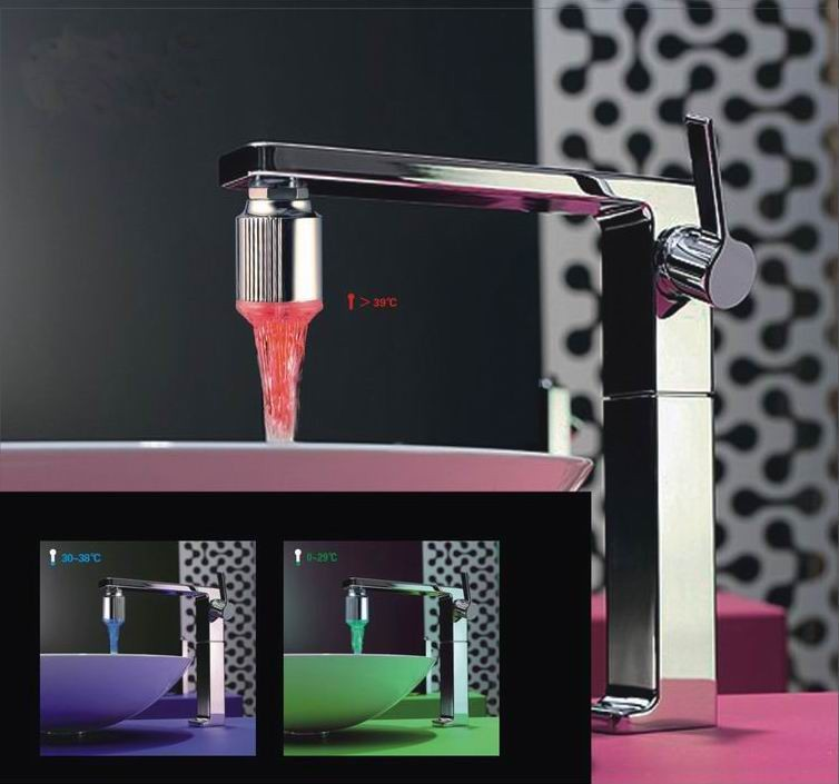 Led faucet light 01
