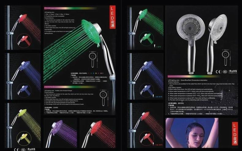 Led hand shower A series