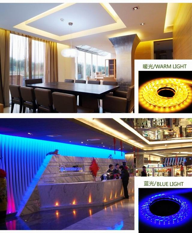 WATERPROOF FLEXIBLLE LED STRIP