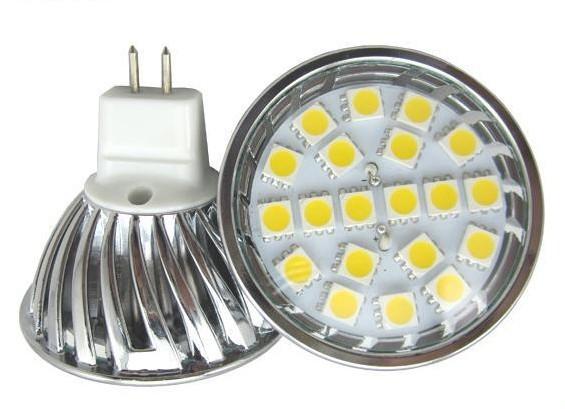 5050SMD Led spotlight MR16